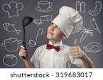 little man chef | Shutterstock . vector #319683017