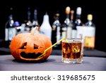 Halloween Party. Funny Pumpkin...