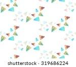 seamless handmade watercolor...   Shutterstock . vector #319686224