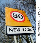 boundary traffic sign | Shutterstock . vector #319707