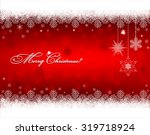 christmas background with... | Shutterstock .eps vector #319718924