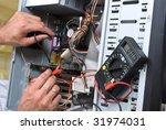 it engineer working | Shutterstock . vector #31974031