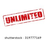 rubber stamp with word... | Shutterstock .eps vector #319777169