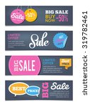 sales banners design   can... | Shutterstock .eps vector #319782461