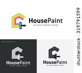 painters choice house paint... | Shutterstock .eps vector #319791599