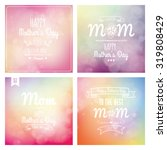 Set Of Colored Backgrounds Wit...