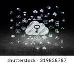 cloud computing concept ... | Shutterstock . vector #319828787