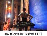 Prima Ballerina Standing...