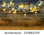 Christmas Warm Gold Garland...