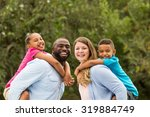 happy family | Shutterstock . vector #319884749
