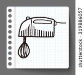 doodle mixer | Shutterstock . vector #319886057