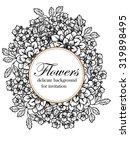vintage delicate invitation... | Shutterstock .eps vector #319898495
