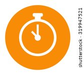 stopwatch icon   Shutterstock .eps vector #319947521