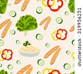 various vegetables icons set... | Shutterstock .eps vector #319956251