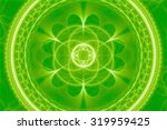 textured ornamental mandala | Shutterstock . vector #319959425