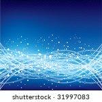 blue abstract  vector | Shutterstock .eps vector #31997083