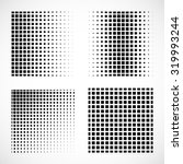 set of abstract squares. vector ... | Shutterstock .eps vector #319993244