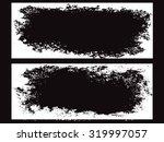 grunge frame set. vector... | Shutterstock .eps vector #319997057