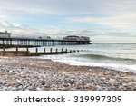 evening at cromer pier on the...