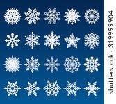 set of snowflakes | Shutterstock . vector #319999904