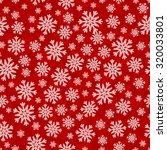 christmas seamless pattern with ... | Shutterstock .eps vector #320033801