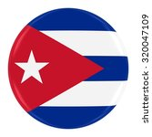 cuban flag badge   flag of cuba ... | Shutterstock . vector #320047109