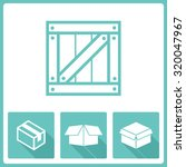 packaging icons | Shutterstock .eps vector #320047967