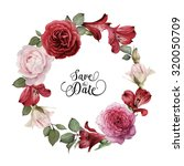 Greeting Card With Roses ...