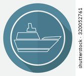 ship icon | Shutterstock . vector #320052761