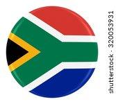 south african flag badge   flag ... | Shutterstock . vector #320053931