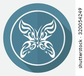 butterfly icon | Shutterstock . vector #320054249