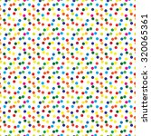 abstract multicolored polka... | Shutterstock . vector #320065361
