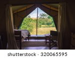 A Luxury Tent Seen From Inside...