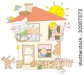 family   Shutterstock .eps vector #32007373