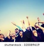 student celebration education... | Shutterstock . vector #320089619