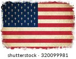death flag of usa   united... | Shutterstock . vector #320099981