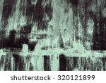 abstract art wall advertising... | Shutterstock . vector #320121899