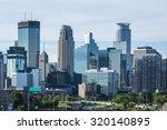 Downtown Minneapolis  Minnesota