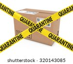 dangerous parcel concept  ... | Shutterstock . vector #320143085