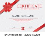 certificate  diploma of...   Shutterstock .eps vector #320146205