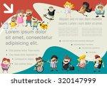 template for advertising... | Shutterstock .eps vector #320147999