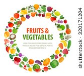 food vector logo design... | Shutterstock .eps vector #320171204
