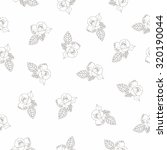 seamless pattern with beautiful ... | Shutterstock .eps vector #320190044