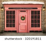 background storefront countdown ... | Shutterstock . vector #320191811