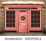 background storefront countdown ... | Shutterstock . vector #320191811
