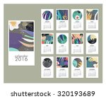 calendar 2016. templates with... | Shutterstock .eps vector #320193689