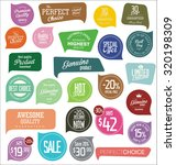 modern badges | Shutterstock .eps vector #320198309
