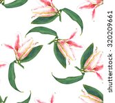 seamless floral pattern of... | Shutterstock . vector #320209661