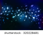 abstract molecular background.... | Shutterstock .eps vector #320228681