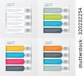 modern infographics banner set | Shutterstock .eps vector #320232254